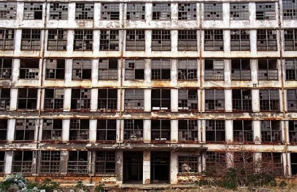 The Abandoned Island of Hashima