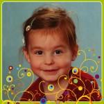 Sara is 4 jaar!